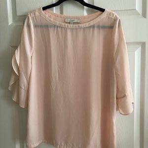 Loft shirt in pink size medium.